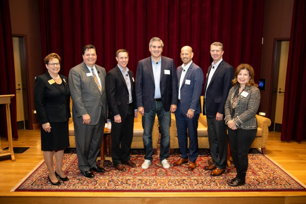 Accountancy Town Hall Panelists, moderator, sponsor and host