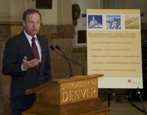 Jim Griesemer delivers report at Capitol