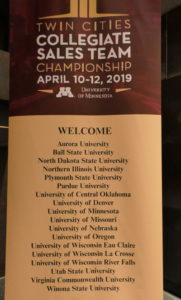 Twin Cities sales competition banner