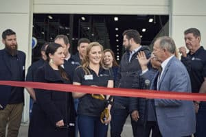 Symbia ribbon cutting ceremony