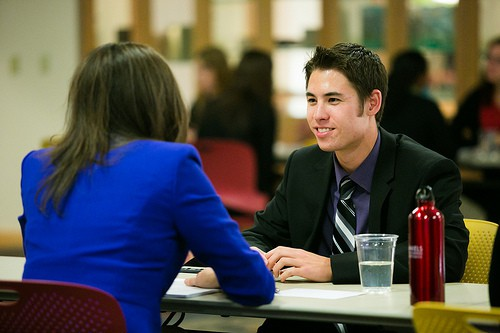 Meet with a career counselor to discuss your career opportunities.