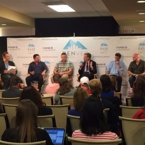 Entrepreneurial Ecosystems Across Borders panel for Denver Startup Week