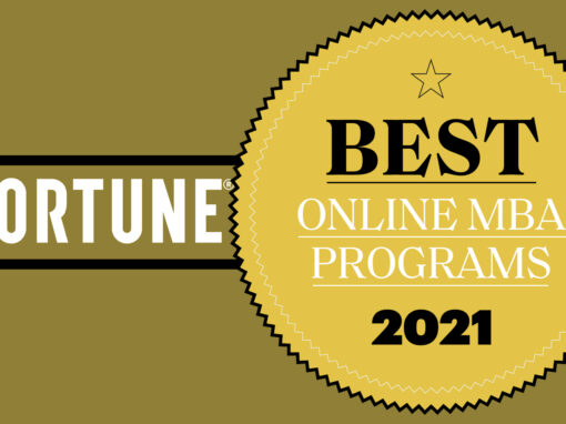 Daniels Ranks No. 44 in Fortune Education's Online MBA Ranking
